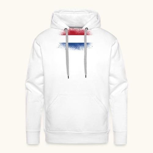 Drapeau hollandais, cadeau drôle - Sweat-shirt à capuche Premium pour hommes