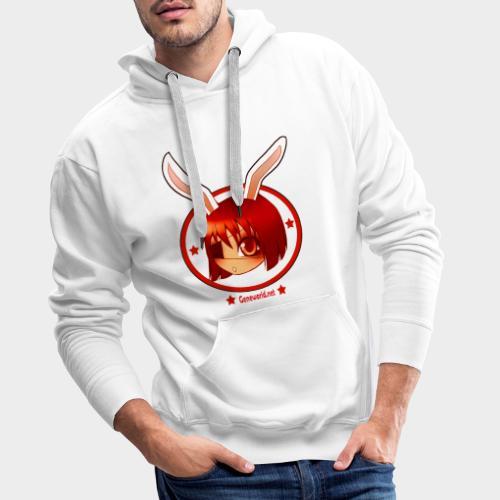 Geneworld - Bunny girl pirate - Sweat-shirt à capuche Premium pour hommes