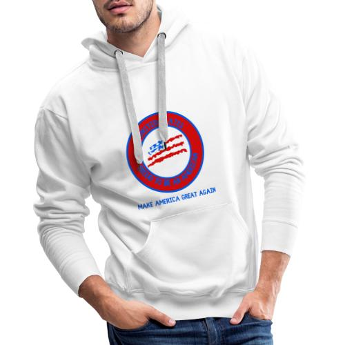 USA collection - Sweat-shirt à capuche Premium pour hommes