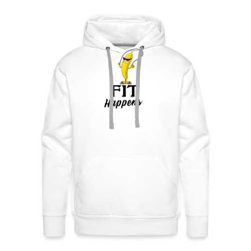 Fit Happens Banana - Männer Premium Hoodie