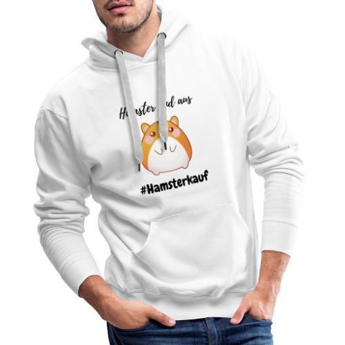 Hamster sind aus - Corona - Männer Premium Hoodie