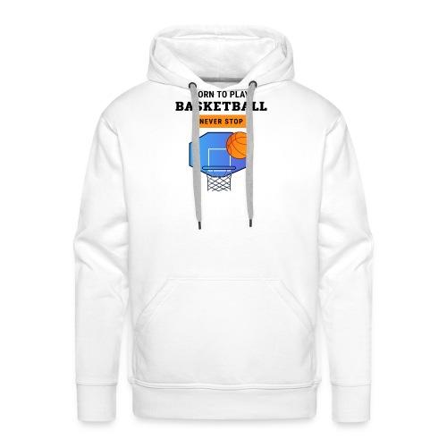 Basket 2 - Sweat-shirt à capuche Premium pour hommes