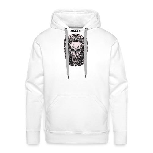 satan - Sweat-shirt à capuche Premium pour hommes