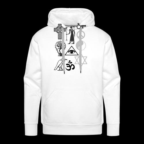 Religous symbols - Men's Premium Hoodie