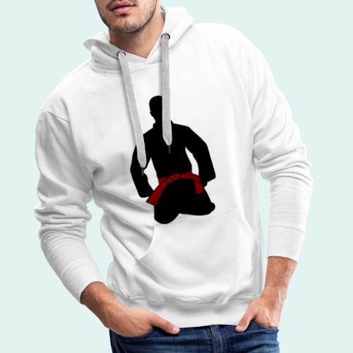 Judo Braungurt - Männer Premium Hoodie