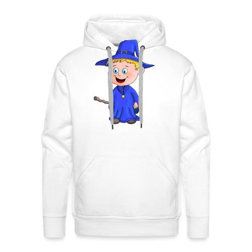 Kleiner Zauberer liebt die Zauberei - Männer Premium Hoodie
