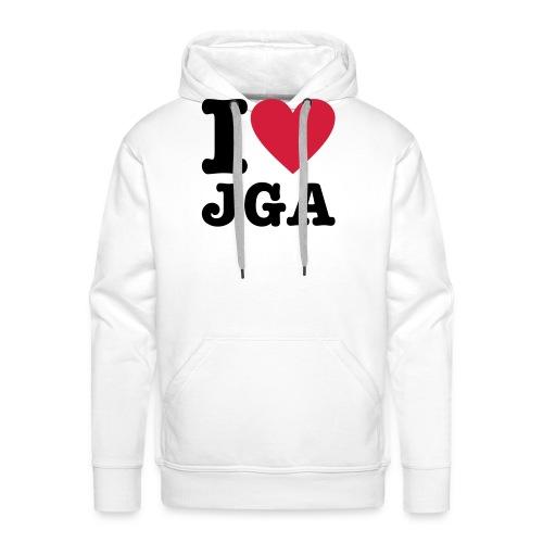 I love JGA - Männer Premium Hoodie