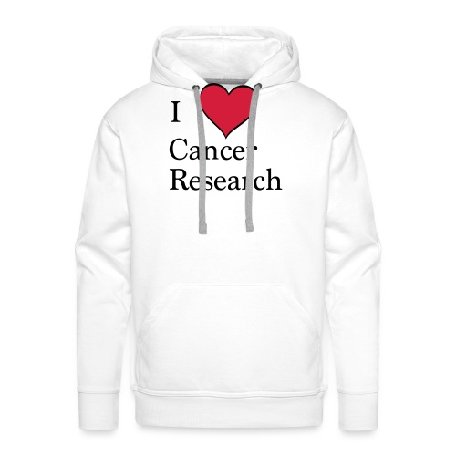 I love cancer research - Männer Premium Hoodie