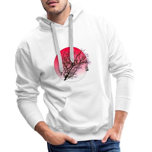 japan blossom - Men's Premium Hoodie