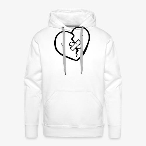 Brocken heart - Männer Premium Hoodie