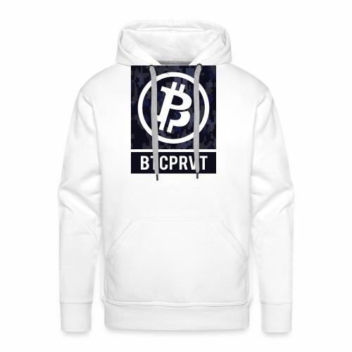 BTCPRVT Digital Camo Merchandise - Men's Premium Hoodie