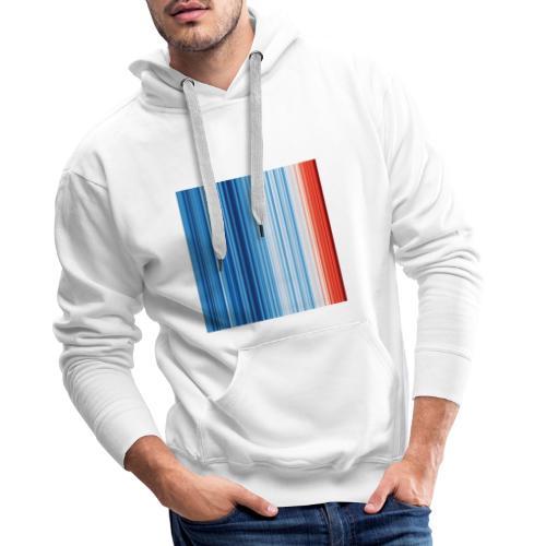 s4f warming stripes - Männer Premium Hoodie