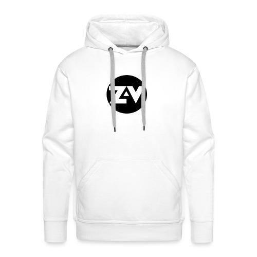 Zvooka Records Logo - Men's Premium Hoodie