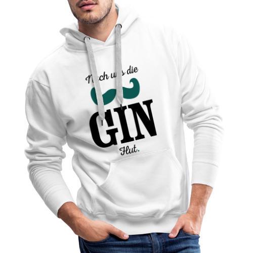 Nach uns die Gin-Flut - Männer Premium Hoodie