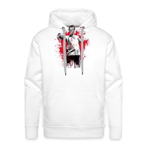 zombie - Sweat-shirt à capuche Premium pour hommes