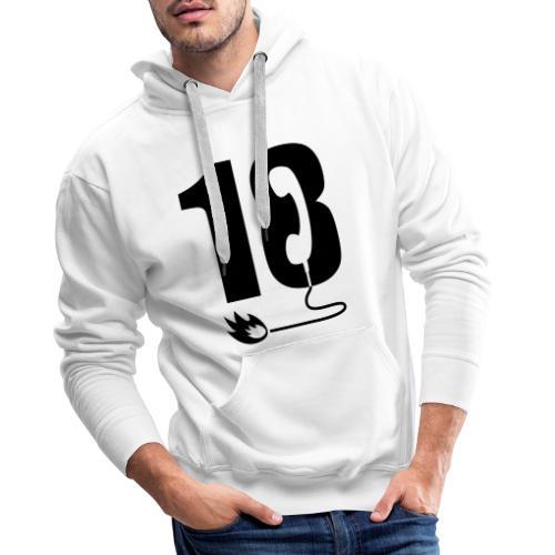 18 - Sweat-shirt à capuche Premium pour hommes