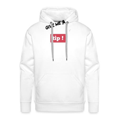 YOUTUBE-Tips - Sweat-shirt à capuche Premium pour hommes