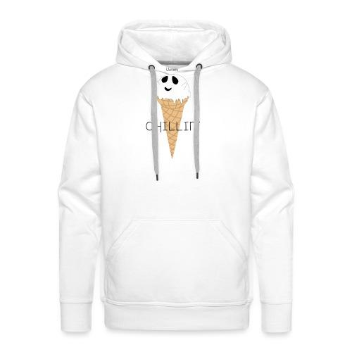 IceGhost - Sweat-shirt à capuche Premium pour hommes