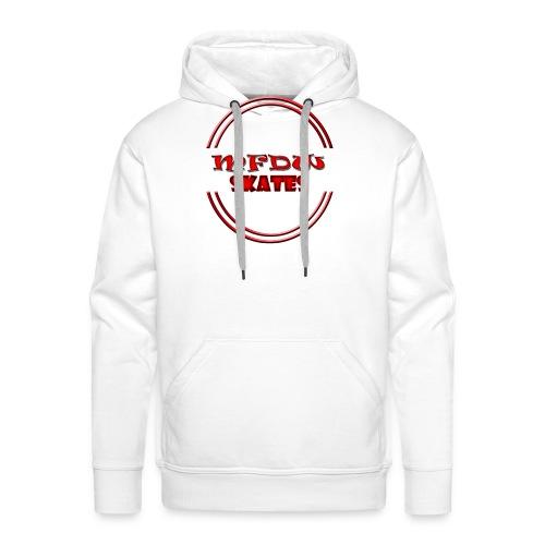 mfdw skates logo - Men's Premium Hoodie