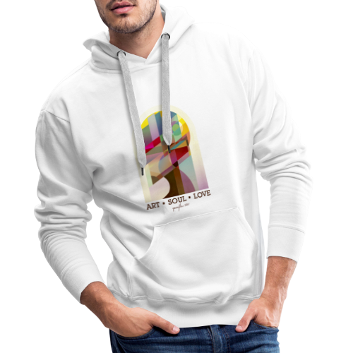 Farbenlehre - Männer Premium Hoodie