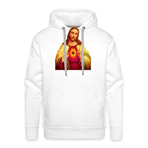Jesus - Mannen Premium hoodie