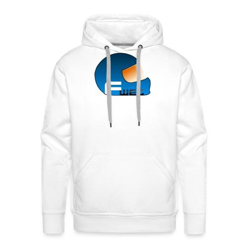 Logo FansWEC - Sweat-shirt à capuche Premium pour hommes