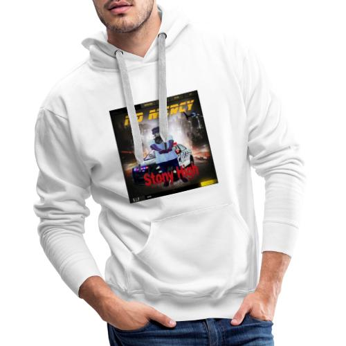 No Mercy Tshirts Stony vybz - Gambia Music Merch - Men's Premium Hoodie