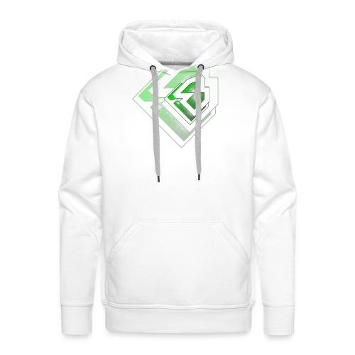 BRANDSHIRT LOGO GANGGREEN - Mannen Premium hoodie