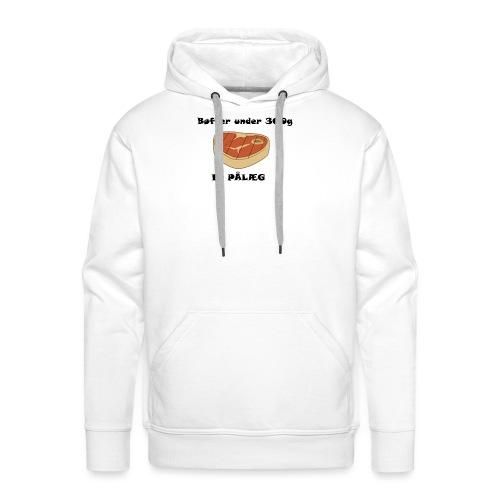 Bøf - Herre Premium hættetrøje