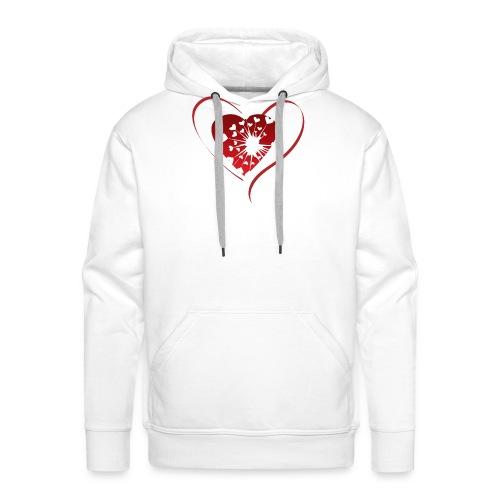 Herz - Männer Premium Hoodie