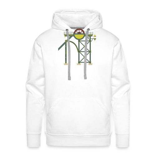 Themepark Mine Tower - Men's Premium Hoodie