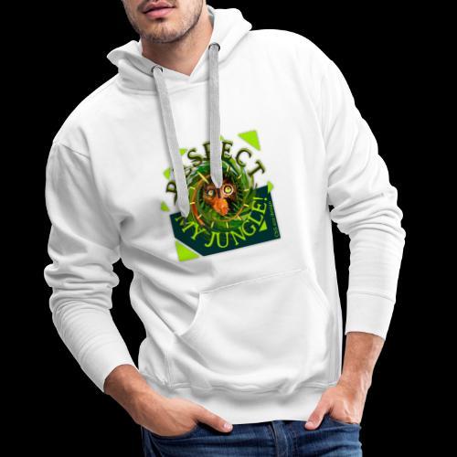 RESPECT MY JUNGLE - Umweltschutz: Tiere im Jungle - Männer Premium Hoodie