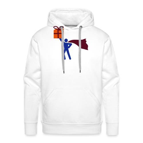geschenk HEH 3 farb vektor - Männer Premium Hoodie