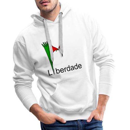 Galoloco - Liberdaded - 25 Abril - Sweat-shirt à capuche Premium pour hommes