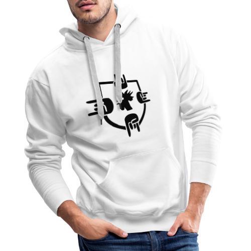 logosmall - Männer Premium Hoodie