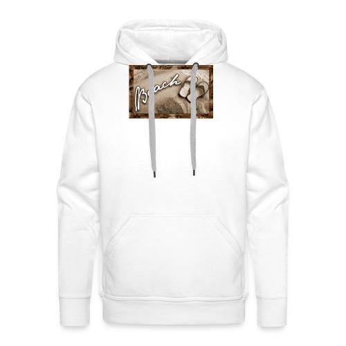 beach - Sweat-shirt à capuche Premium pour hommes