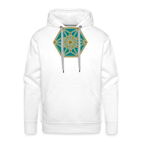 Kuboktaeder, Buckminster Fuller, Heilige Geometrie - Männer Premium Hoodie