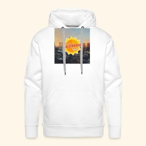 California Spirit City - Sweat-shirt à capuche Premium pour hommes