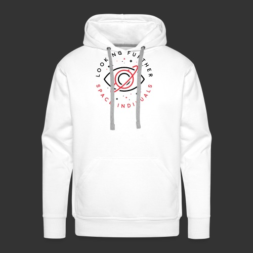 Space Individuals - Looking Further White - Men's Premium Hoodie