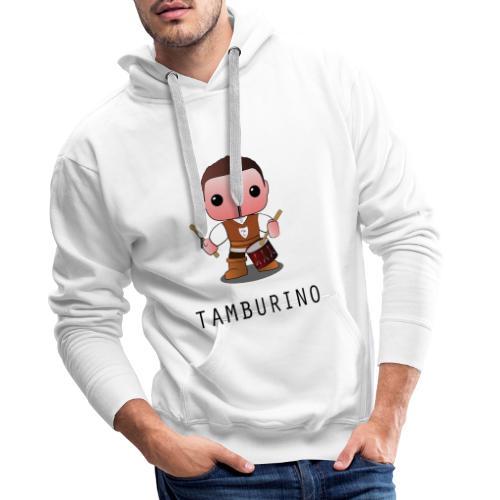tamburino forenza - Felpa con cappuccio premium da uomo