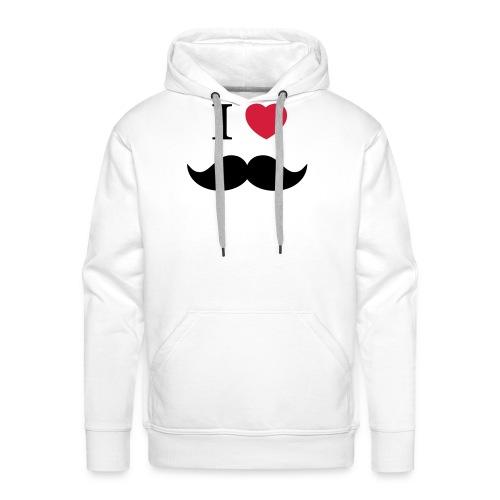 I Love beards - Männer Premium Hoodie