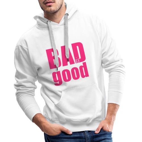 BADISGOOD - Sweat-shirt à capuche Premium pour hommes