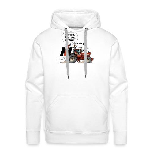 0857 wait here shotgun - Mannen Premium hoodie