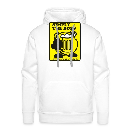 Simply the Boss - Men's Premium Hoodie