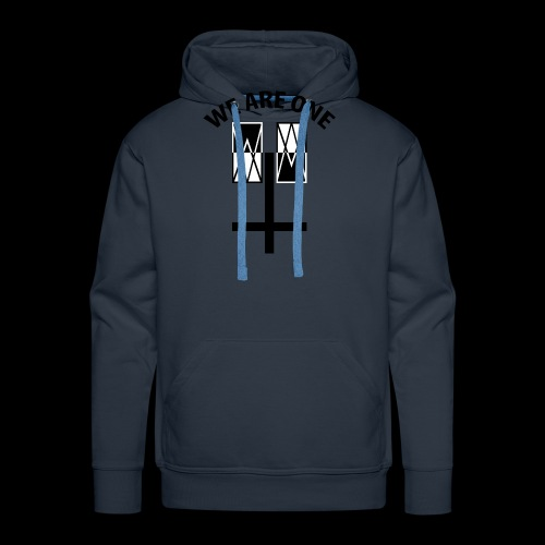 WE ARE ONE x CROSS - Mannen Premium hoodie