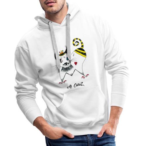 Al Catriz - Sweat-shirt à capuche Premium pour hommes