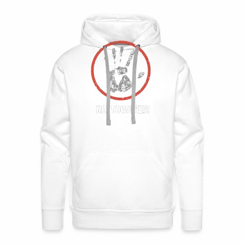 No Touchies 004 - Men's Premium Hoodie