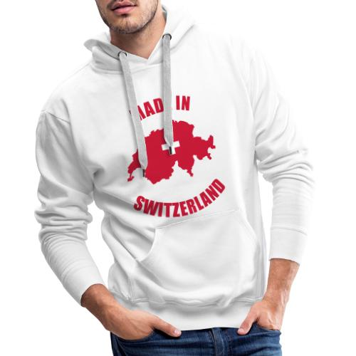 Made in Switzerland - Männer Premium Hoodie