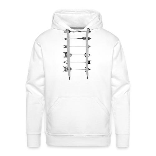 pijlen - Mannen Premium hoodie
