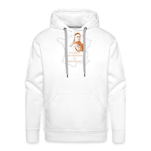Cardinal Pie - Sweat-shirt à capuche Premium pour hommes